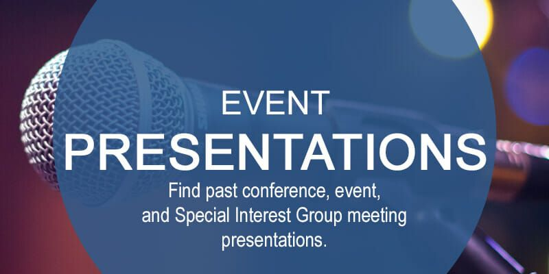 Event Presentations Square